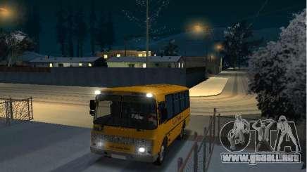 SURCO escuela 32053-70 para GTA San Andreas