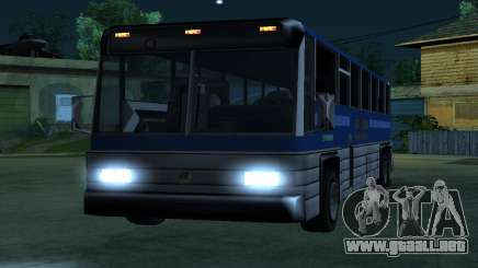New Coach para GTA San Andreas