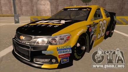 Chevrolet SS NASCAR No. 39  Wix Filters para GTA San Andreas