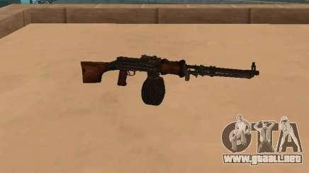 Ametralladora ligera (RAP) [la citación necesitó] para GTA San Andreas