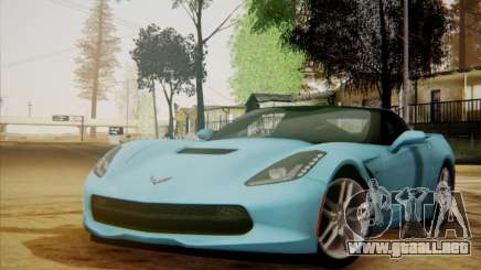 Chevrolet Corvette C7 Stingray 2014 para GTA San Andreas