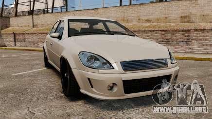 Templar el Premier versión para GTA 4