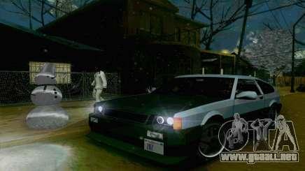 Blista Compact Type R para GTA San Andreas