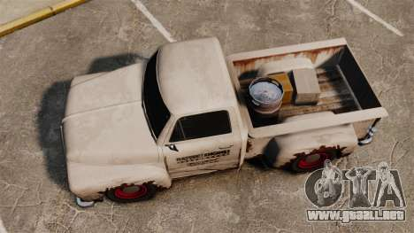 Camioneta oxidada para GTA 4 visión correcta