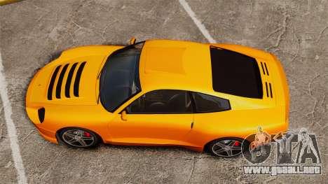 Comet Turbo para GTA 4 visión correcta