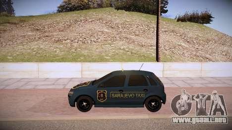 Opel Corsa C 2005 Sarajevo Taxi para la visión correcta GTA San Andreas
