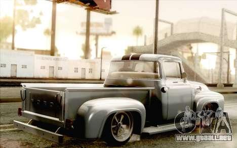 Ford F100 1956 para GTA San Andreas left