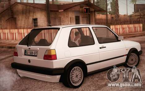Volkswagen Golf Mk2 GTI para GTA San Andreas left