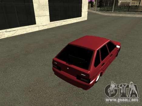 ВАЗ 2114 BPAN para la visión correcta GTA San Andreas