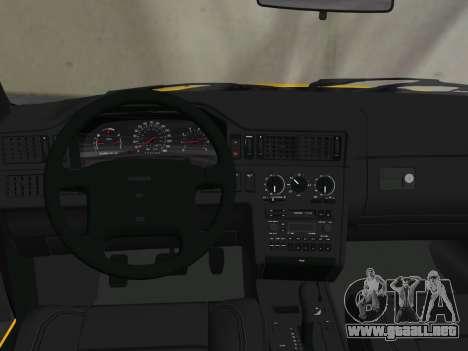 Volvo 850 R Estate para GTA Vice City vista superior