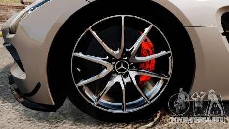 Mercedes-Benz SLS AMG Black Series 2014 para GTA 4 vista hacia atrás