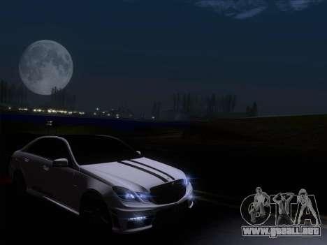 Mercedes-Benz E63 AMG 2011 Special Edition para vista inferior GTA San Andreas