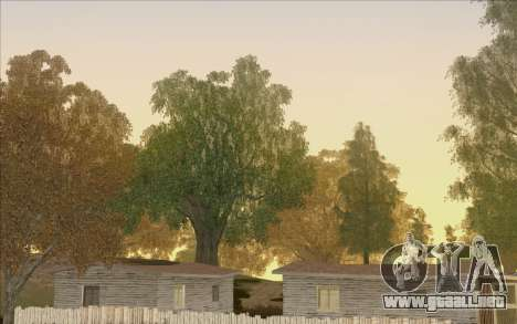 Behind Space Of Realities - Cursed Memories para GTA San Andreas octavo de pantalla