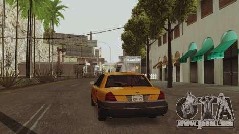 ENB soleado para PC baja o media para GTA San Andreas tercera pantalla