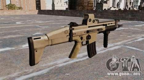 Rifles de asalto FN SCAR-L para GTA 4 segundos de pantalla