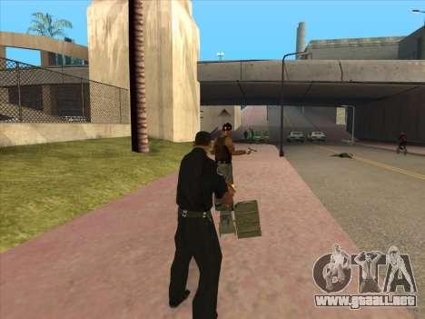TVNS para GTA San Andreas quinta pantalla