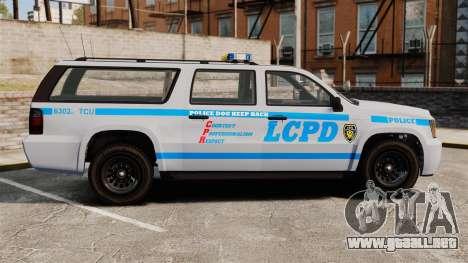 GTA V Declasse Police Ranger 3500PE [ELS] para GTA 4 left
