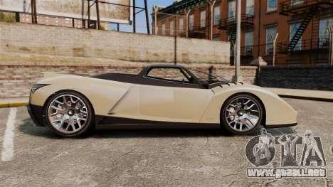 GTA V Grotti Cheetah para GTA 4 left