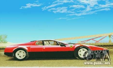 Ferrari 512 BB para visión interna GTA San Andreas
