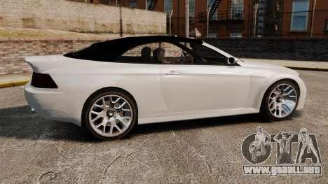 GTA V Zion XS Cabrio [Update] para GTA 4 left