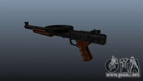 La metralleta SMG silenciado para GTA 4 segundos de pantalla