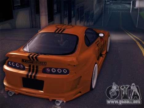 Toyota Supra Top Secret V12 para el motor de GTA San Andreas