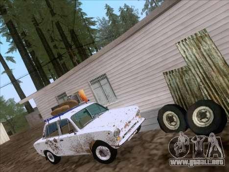 VAZ 21011 Cottage para GTA San Andreas vista posterior izquierda