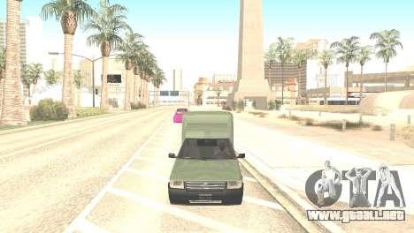Fiat Fiorino Fire 07 para la visión correcta GTA San Andreas