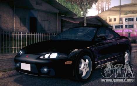 Mitsubishi Eclipse Fast and Furious para GTA San Andreas left