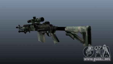 Rifle de francotirador M21 Mk14 v6 para GTA 4 segundos de pantalla