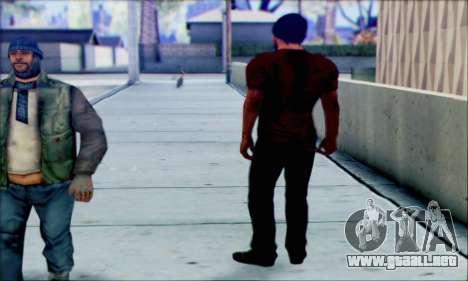 Grant Brody de Far Cry 3 para GTA San Andreas tercera pantalla