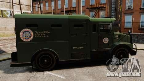 Military Enforcer para GTA 4 left
