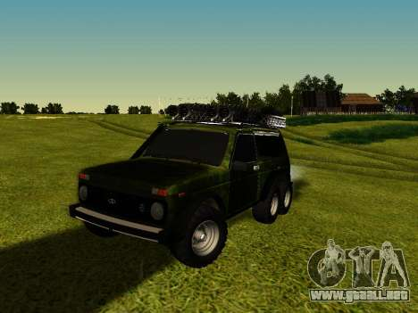 VAZ 212140 Hunter para GTA San Andreas