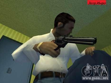 Colt Python para GTA San Andreas