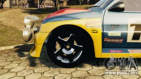 MG Metro 6r4 para GTA 4 visión correcta