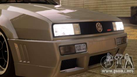Volkswagen Corrado VR6 1995 para GTA 4 vista hacia atrás