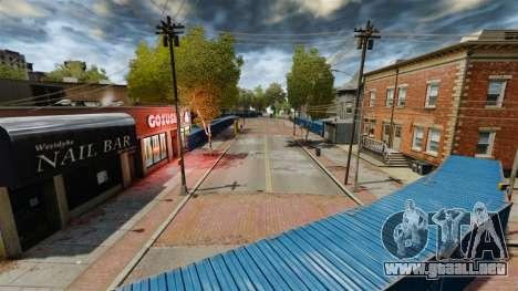 Alrededor de la ciudad a la deriva para GTA 4 adelante de pantalla