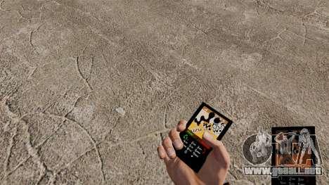 El tema para el teléfono Walkman para GTA 4
