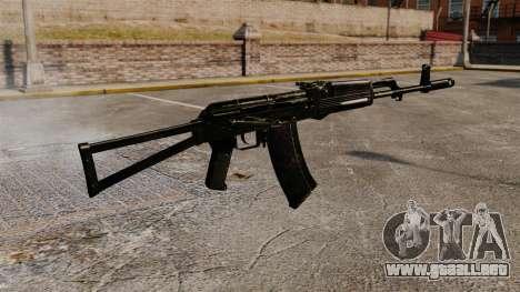 AK-47 v9 para GTA 4 segundos de pantalla