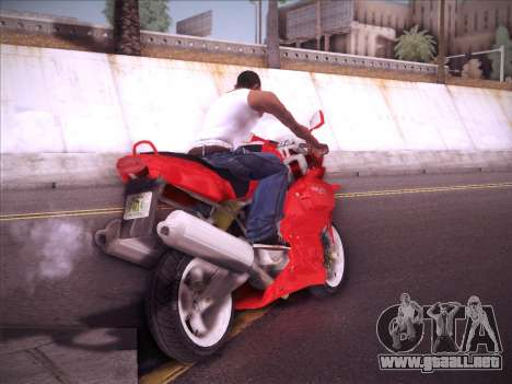Ducati Supersport 1000 DS para la visión correcta GTA San Andreas