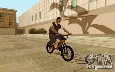BMX para vista inferior GTA San Andreas
