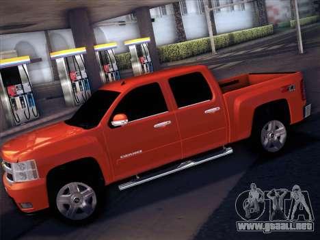 Chevrolet Cheyenne LT 2008 para la visión correcta GTA San Andreas
