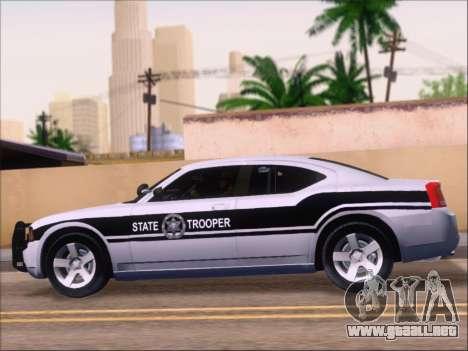 Dodge Charger San Andreas State Trooper para GTA San Andreas interior