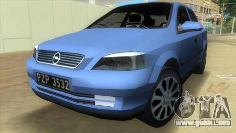 Opel Astra 4door 1.6 TDi Sedan para GTA Vice City