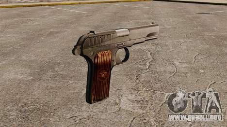 Pistola semiautomática TT-33 para GTA 4 segundos de pantalla