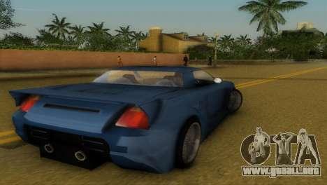 Toyota MR-S Veilside Hardtop para GTA Vice City visión correcta