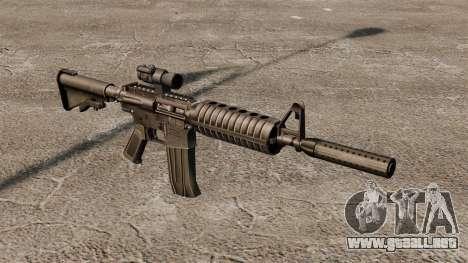 Carabina M4 auto-15 para GTA 4