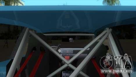 Seat Ibiza GT para GTA Vice City visión correcta