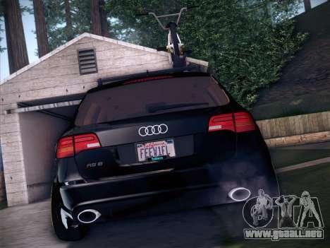 Audi Avant RS6 LowStance para vista lateral GTA San Andreas