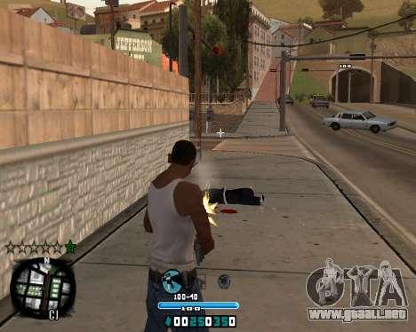 C-HUD Old Tawer para GTA San Andreas